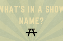 What's in a (Show) Name-