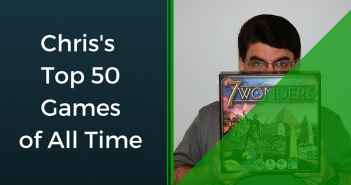 Chris's Top 50 Games of All Time