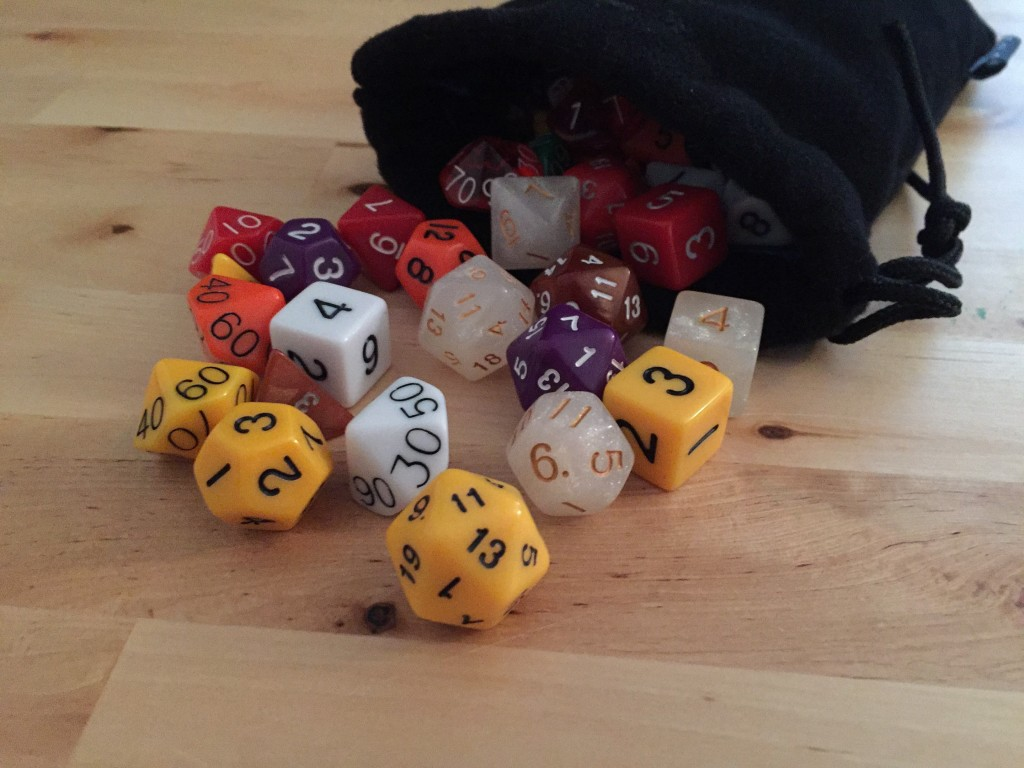 105 Count of Polyhedral Dice