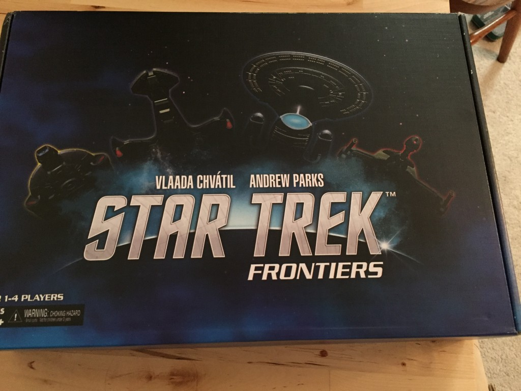 Star Trek Frontiers game box