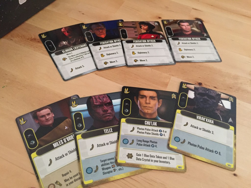 Star Trek Frontiers cards