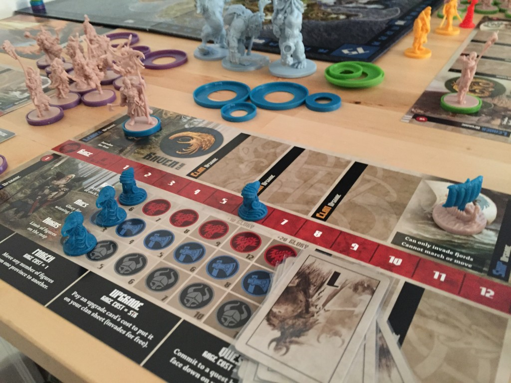 Blood Rage Action Points