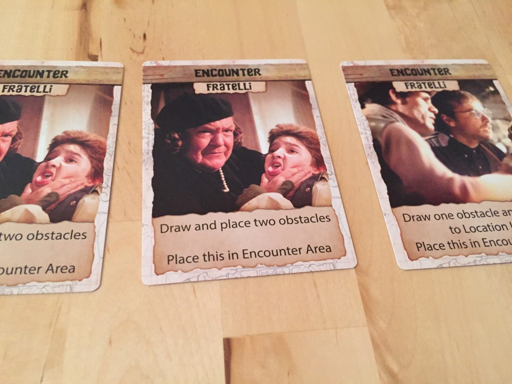 Goonies Adventure Card Game Fratellis
