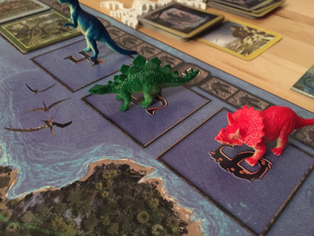 Triassic Terror Action Tiles