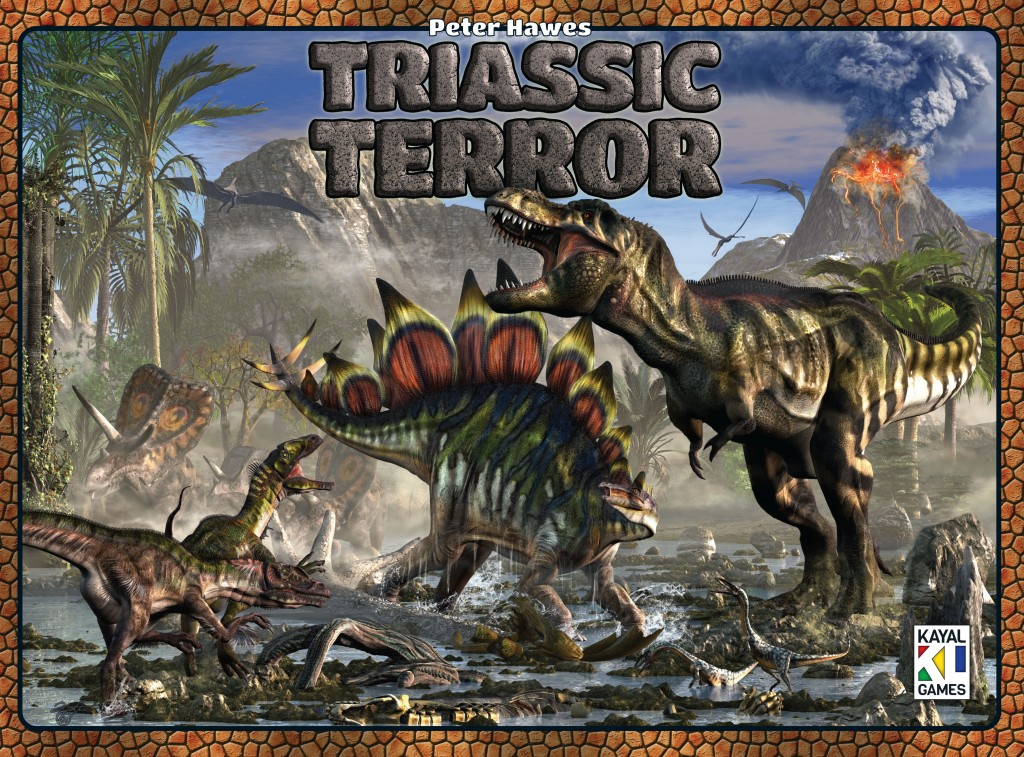 Triassic Terror board game box