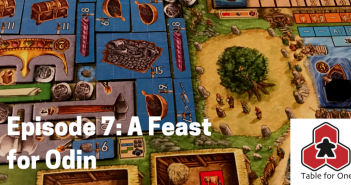 Table for One A Feast for Odin