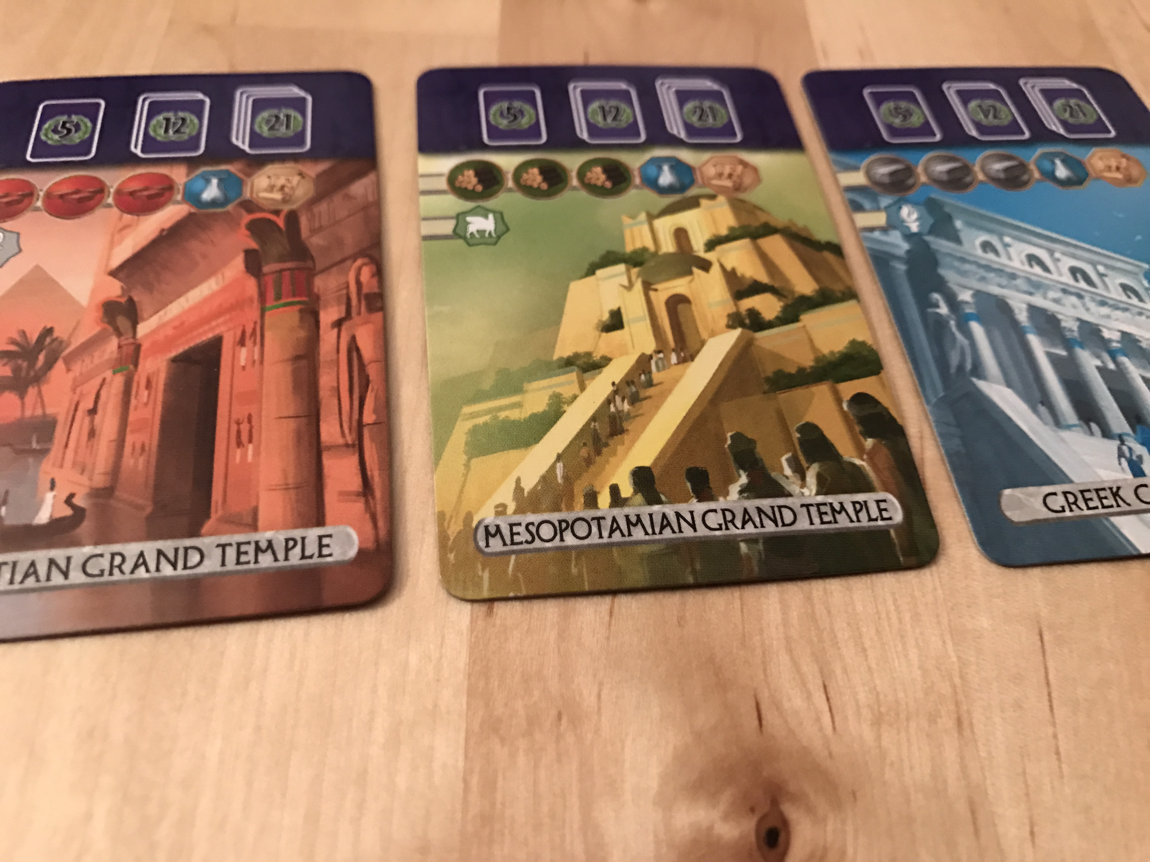 7 Wonders Duel Pantheon Review - Board Gamers Anonymous