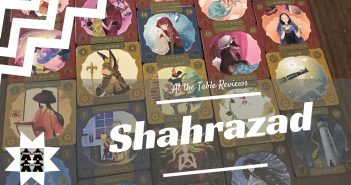 At the Table Reviews- Shahrazad