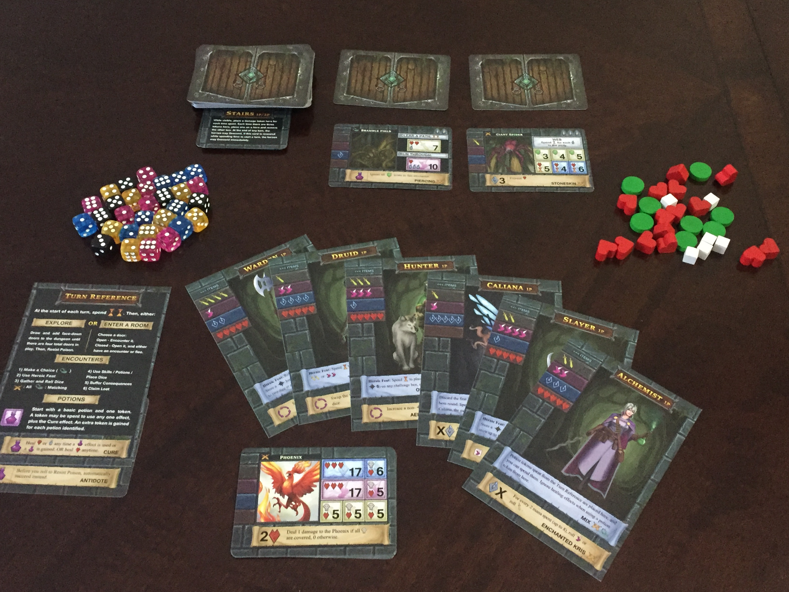 Reviews of One Deck Dungeon v  1 5 and ODD: Forest of