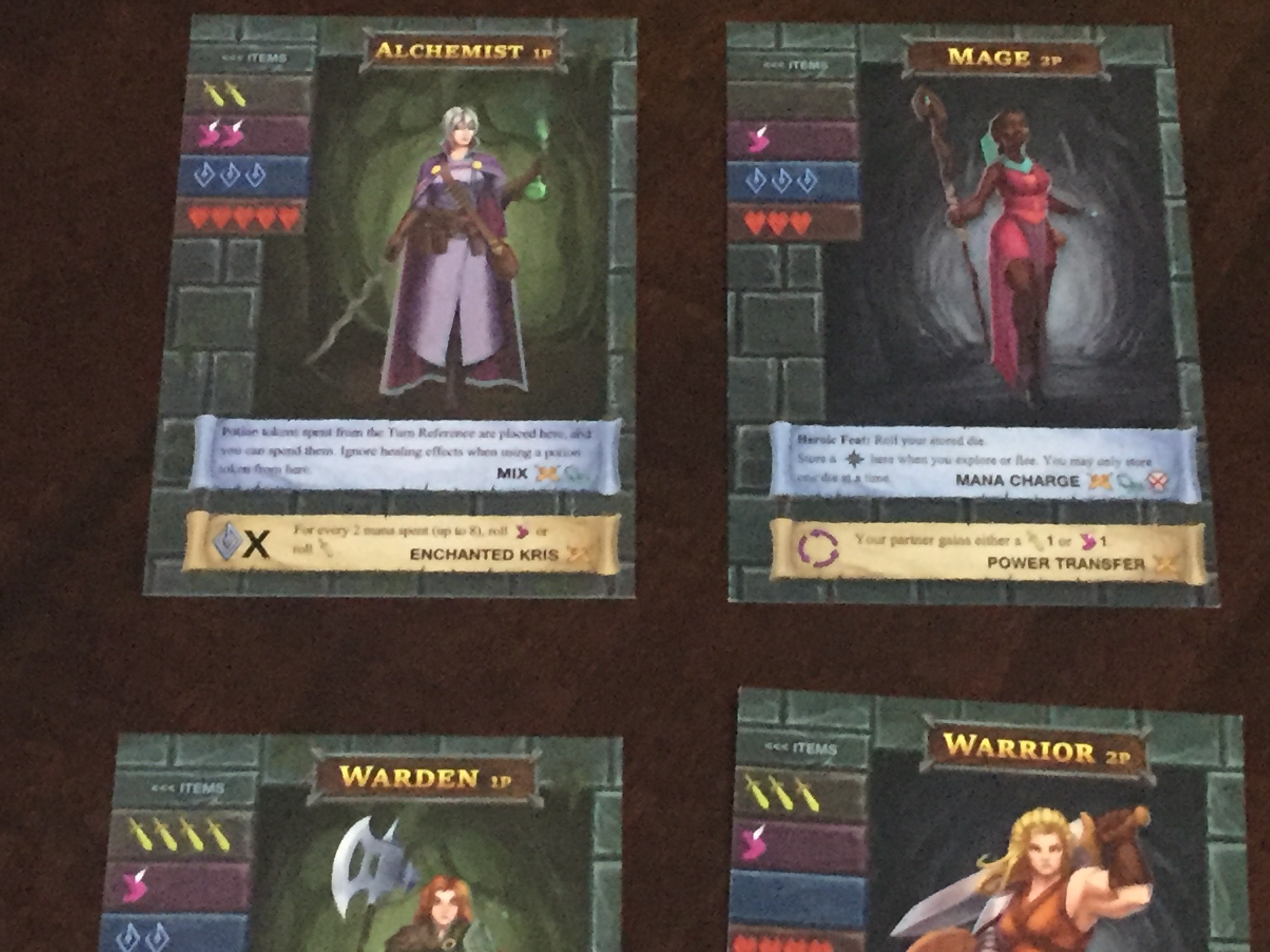 Reviews Of One Deck Dungeon V 1 5 And Odd Forest Of Shadows