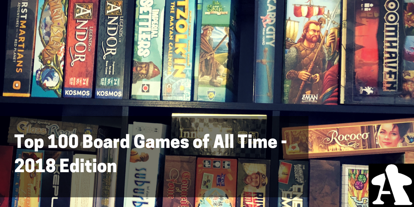 Biggest Games Of 2018 : Top games of all time edition board gamers