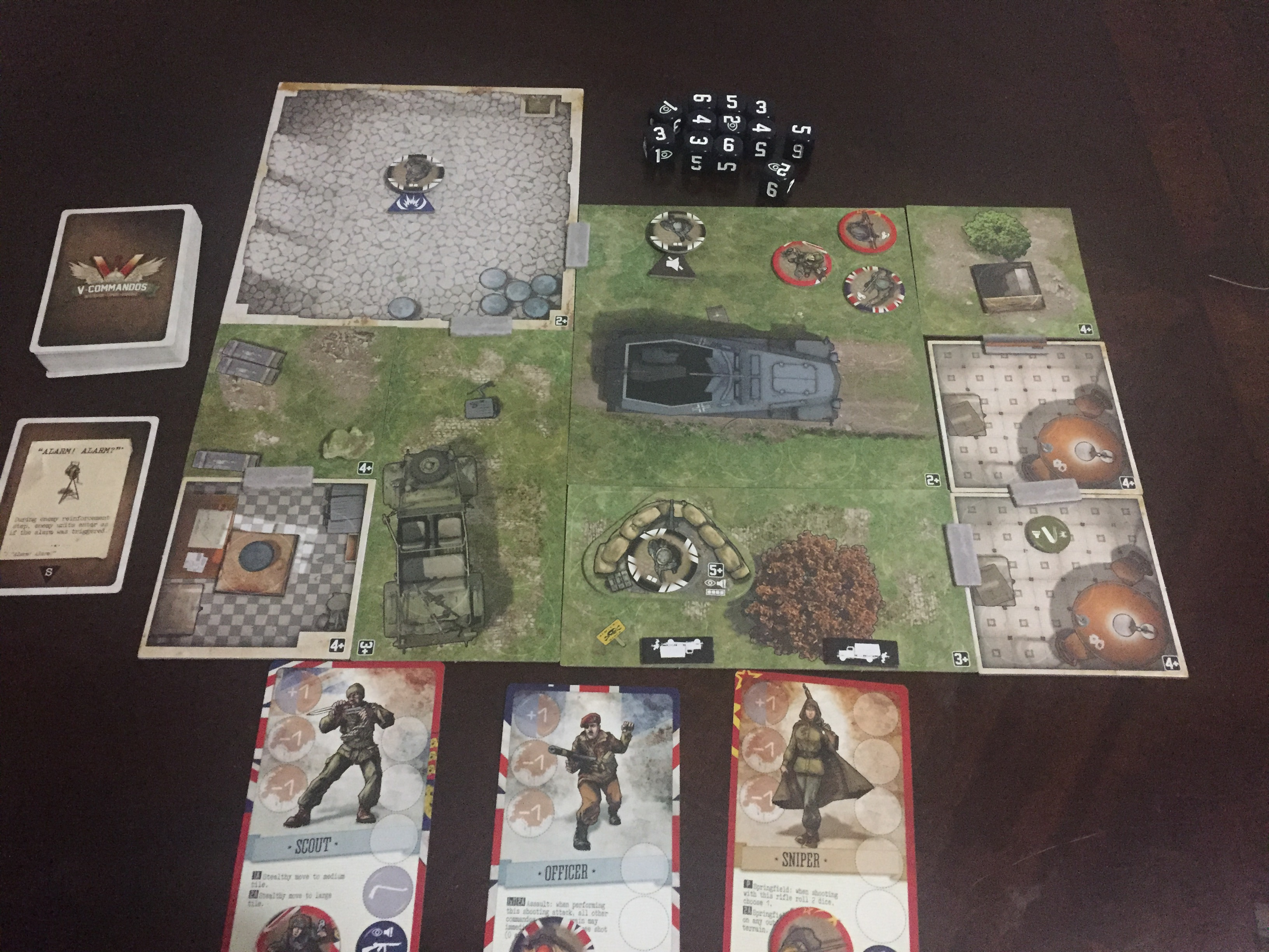 Review of V-Commandos - Board Gamers Anonymous