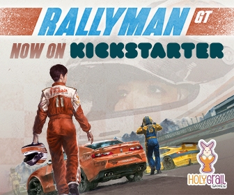Rallyman: GT on Kickstarter